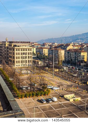 Aerial View Of Turin (hdr)