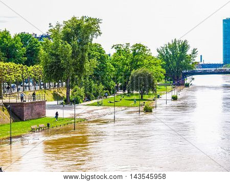 Flood In Frankfurt (hdr)