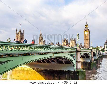 Westminster Bridge London (hdr)