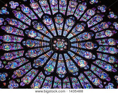 Notre Dame Interior - Vitrai