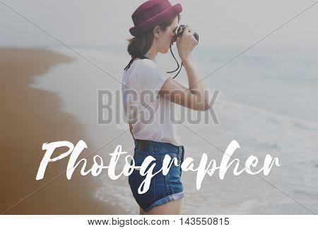 Photographer Camera Picture Focus Pictures Concept