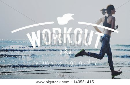 Work Out Activity Fitness Fit Wellness Exercise Concept