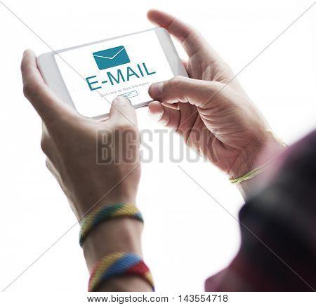 E-mail Digital Homescreen Concept