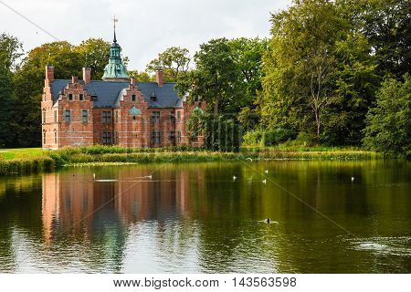 Bath House On Frederiksborg Slot Park