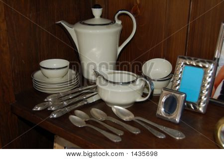 Knife, Forks, Spoon, Picture Frame
