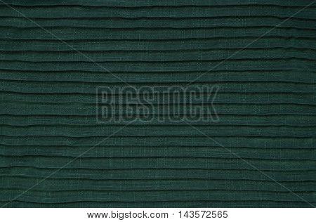 Green Folded Fabric