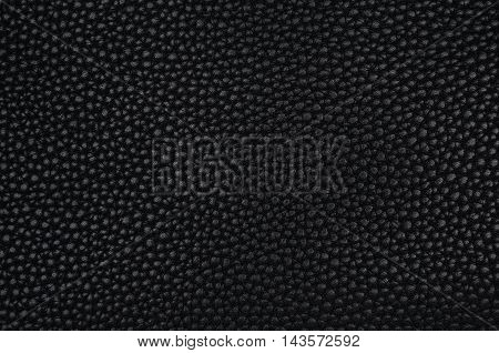 Texture Of A Black Imitation Leather