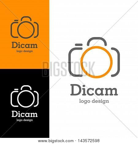 Logo design Dicam, vector art for web and print
