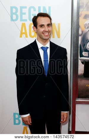 NEW YORK-JUNE 25: Actor Ian Brodsky attends the New York premiere of Weinstein company's