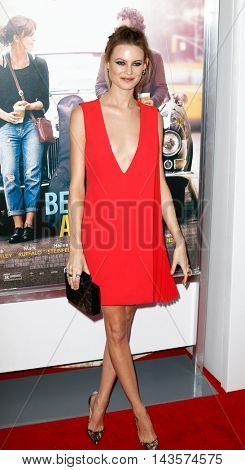 NEW YORK-JUNE 25: Behati Prinsloo attends the New York premiere of Weinstein company's
