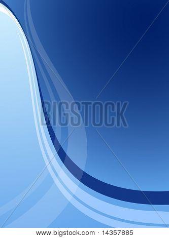 Blue abstract backdrop. Vector illustration.