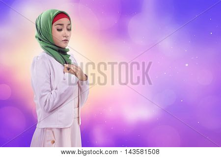 Young Asian Woman Look Natural And Wisdom,