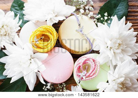 Female Sweet Accessories Design Gift Handmade Presentation Present Feminine Concept