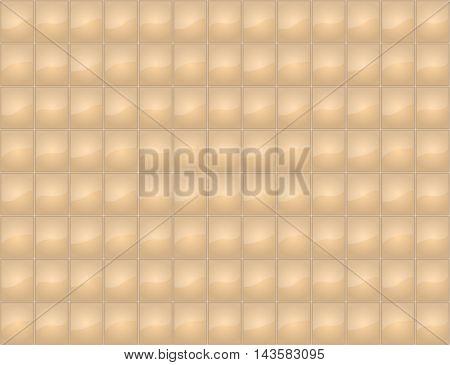 Beige tile seamless texture. Vector illustration. EPS10.