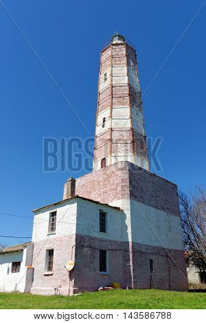 Cape of Shabla-the oldest lighthouse in Bulgaria with the highest tower rising to 32 m the most interesting history and the most original architecture.