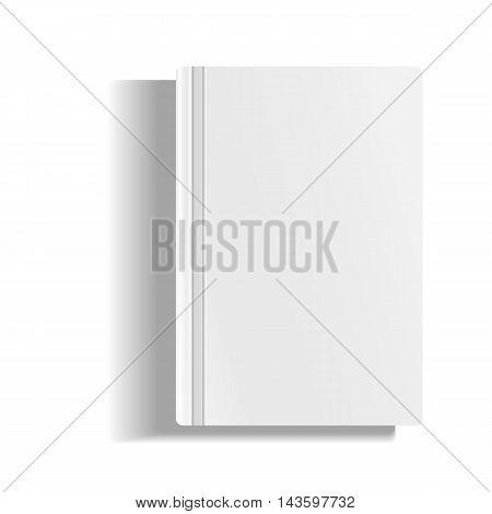 Empty Magazine, Album Or Book Template.