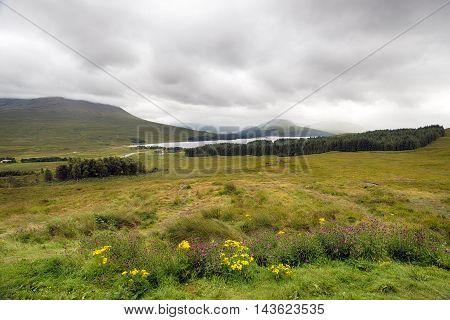 Loch Ba In Scotland