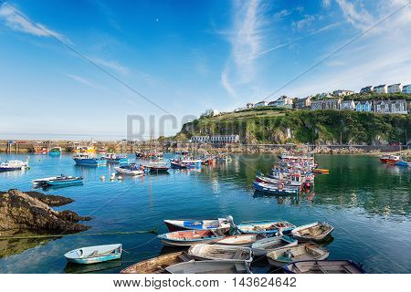 Boats At Mevagissey Harbour