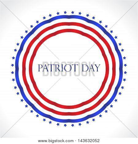 Patriot Day USA American Patriot Day. Vector illustration.
