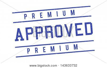 Approved Authentic Quality Guaranteed Product Concept