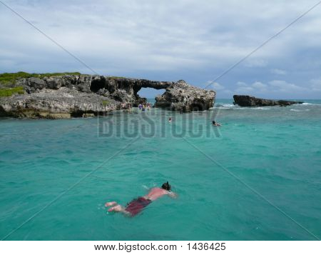 Snorkeling At Hell'S Gate