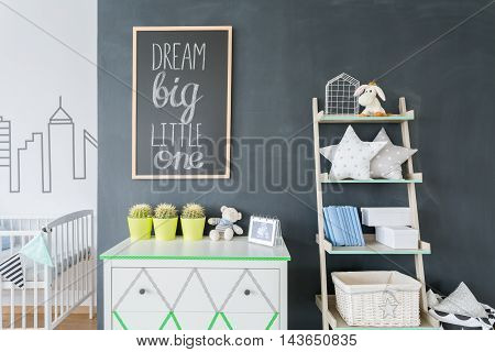 Unique Details In Baby Room Decoration