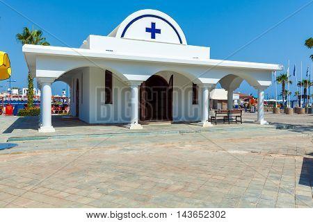 Ayia Napa City Beach And Orthodox Church