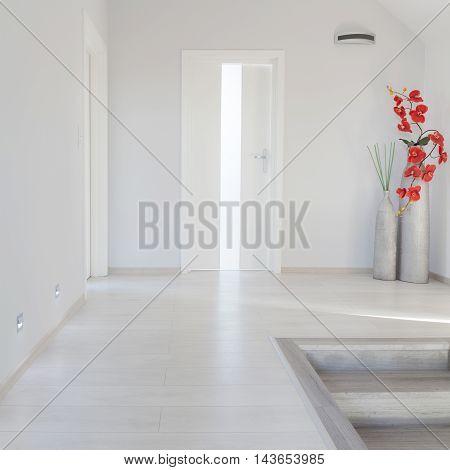 White Simple Corridor