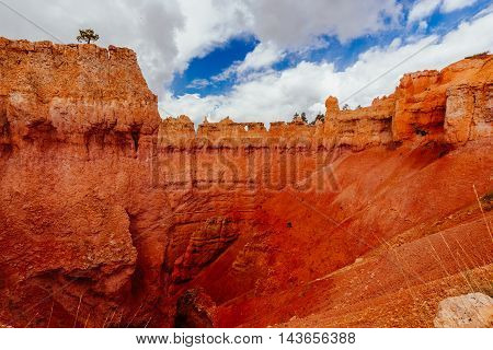 The Bryce Canyon National Park, Utah, Usa