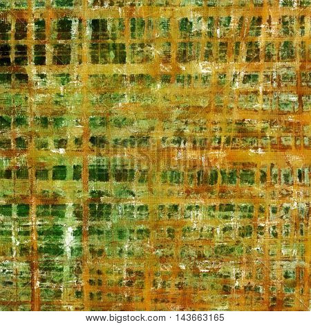Art grunge texture, vintage abstract background for creative design. With different color patterns: yellow (beige); brown; green; red (orange); gray