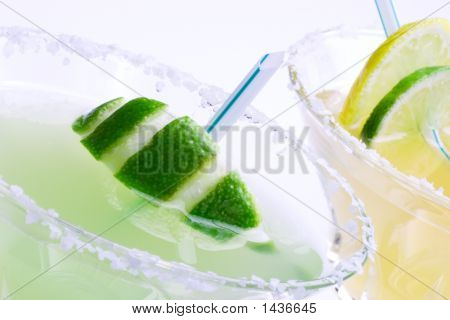 Margarita Cocktails Closeup