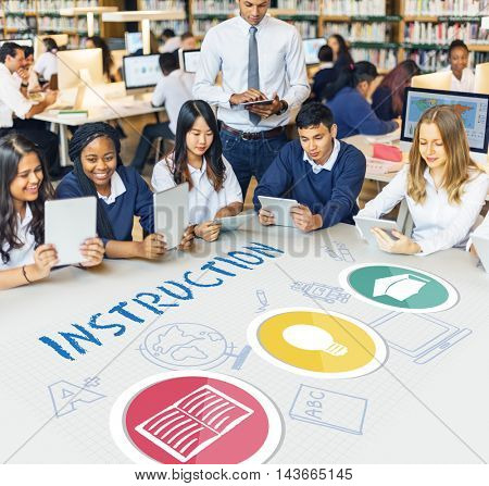 Instruction Teaching Education Knowledge School Concept