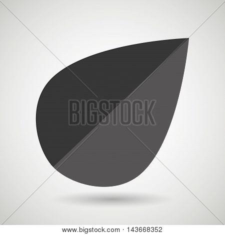 leaf plant natural sheet vector illustration design