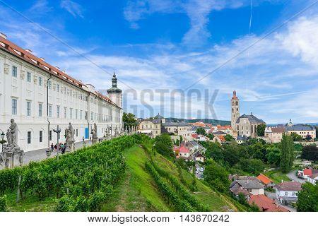 Barborska Street Kutna Hora Czech Republic