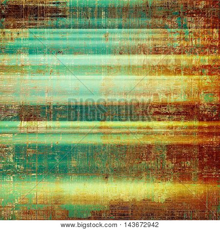 Art grunge texture, vintage abstract background for creative design. With different color patterns: yellow (beige); brown; green; blue; red (orange); cyan