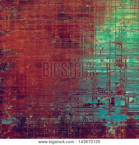 Art vintage texture for background in grunge style. With different color patterns: brown; green; blue; red (orange); purple (violet); pink