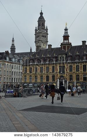 The East Side Of The Grand Place