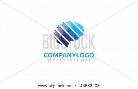 Blue Brain Logo suitable for business,technologies,education,IT,robots,and more