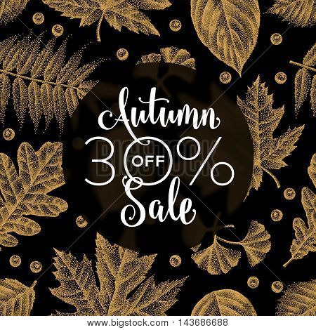 Etching Leaves Sale_03.eps