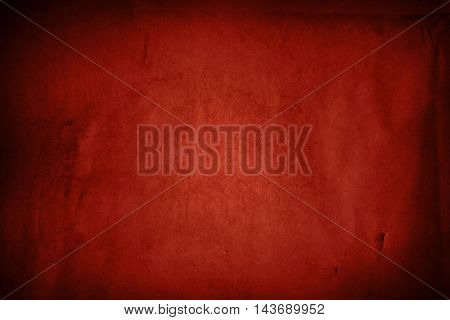 Closeup of red paper texture