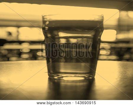 Pint Of Beer Sepia