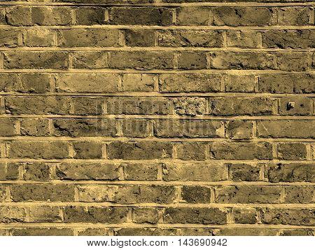 Red Bricks Sepia