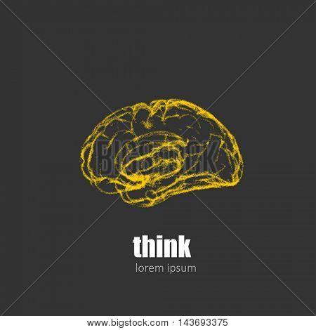 Brain Logo design template easy editable