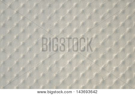 Closeup of gold leather texture background .
