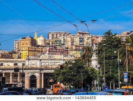 Stazione Principe Genoa (hdr)