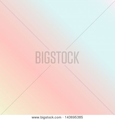 Pastel Multi Color Gradient Vector BackgroundSimple form and blend of color spaces as contemporary background graphic.
