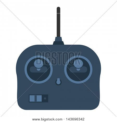 Remote toy joystick vector