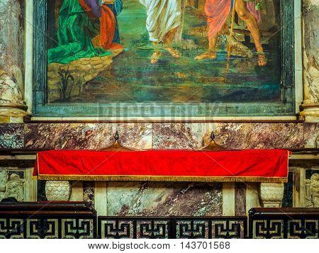 San Donato Immacolata Concezione In Turin (hdr)