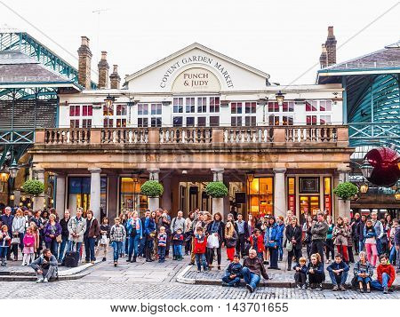 Covent Garden London (hdr)