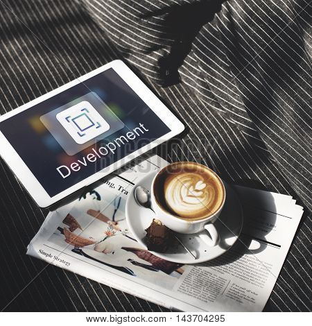 Application Design Ideas Innovation Graphic Concept